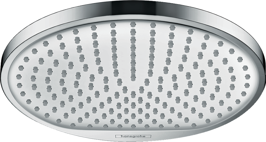Hansgrohe overhead rain shower head