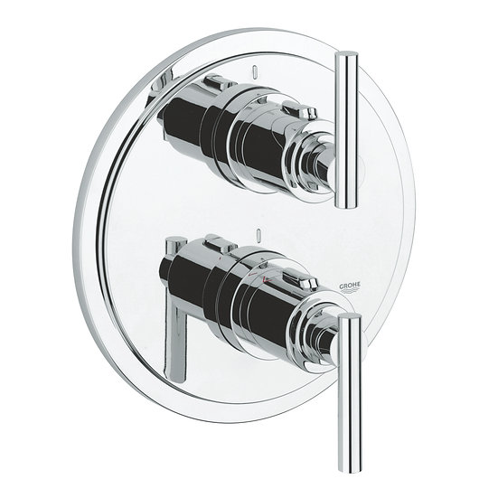 Grohe atrio thermostatic shower mixer