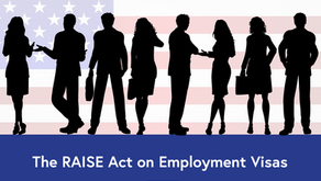 The RAISE Act on Employment Visas