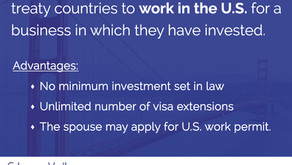 What is the E-2 visa?