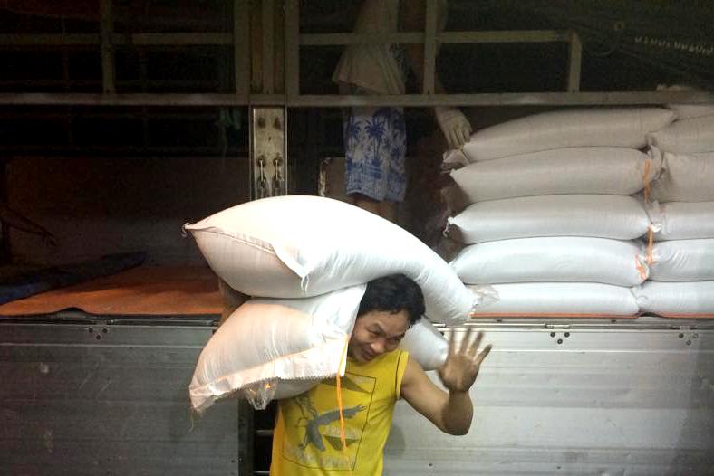 gạo cho nhà hàng