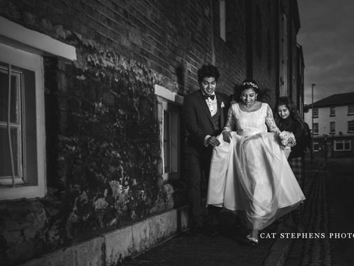 Evening Weddings - You can still have epic images, even in the dark!