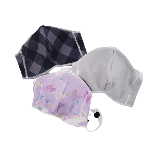 Kids Fitted Face Covering (prints)