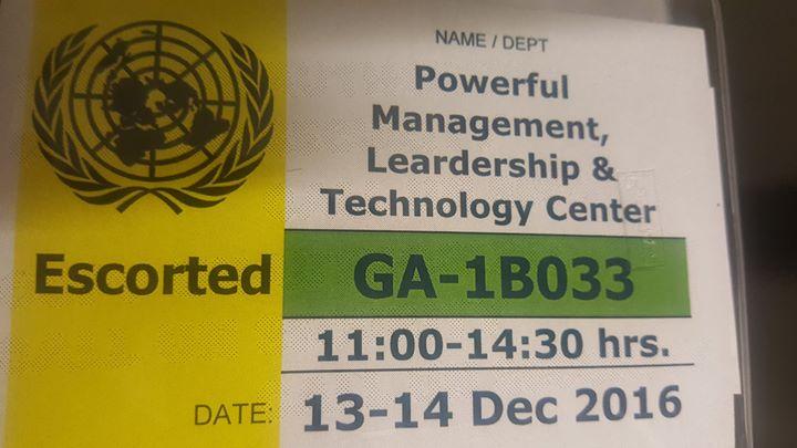 PMLT at UN