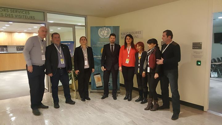 Georgian Delegation working visit in UN.