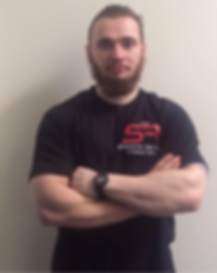 Gavin Clark at the strength factory bolton personal training strength training