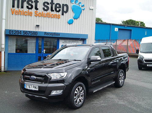 Ford Ranger 2018 (67 reg)  3.2 TDCi Wildtrak Double Cab Pickup 4WD (s/s) 4dr