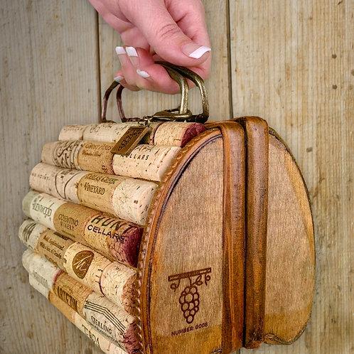 Custom Handmade Vino Purse