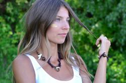 Warrior necklace & branslets