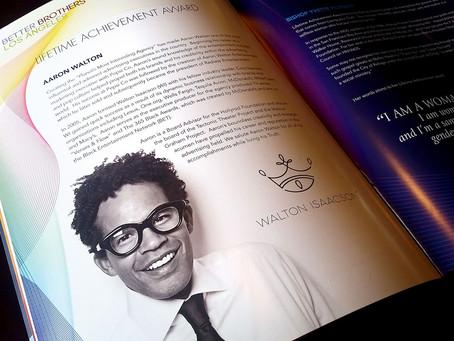 "Aaron Walton of Walton Issacson Agency Receives Lifetime Achievement Award at 2nd Annual ""Truth"