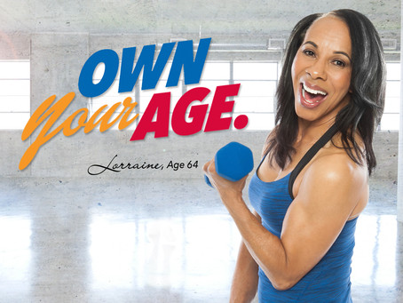 Age Gets BETTER with FITNESS.