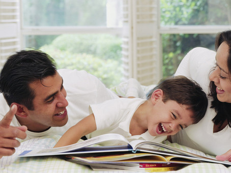 Sing, Talk, and Read to your Children.