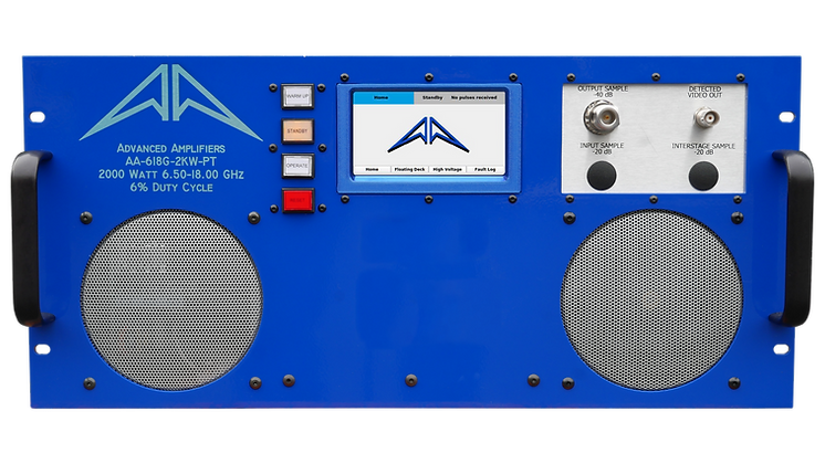 AA-618G-2KW-PT TWT Pulse Amplifier