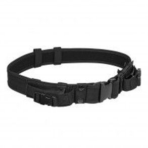 """VISM® by NcSTAR® 2"""" TATICAL BELT WITH TWO POUCHES/ BLACK"""