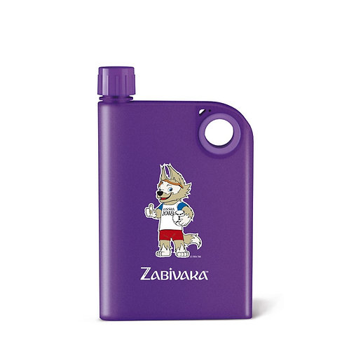 ПЛАСТИКОВАЯ ФЛЯЖКА FLASK ZABIVAKA (380ml) FIFA World Cup Russia 2018