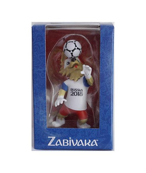 Фигурка FIFA 2018 Забивака мяч на голове 9см в подарочной коробке