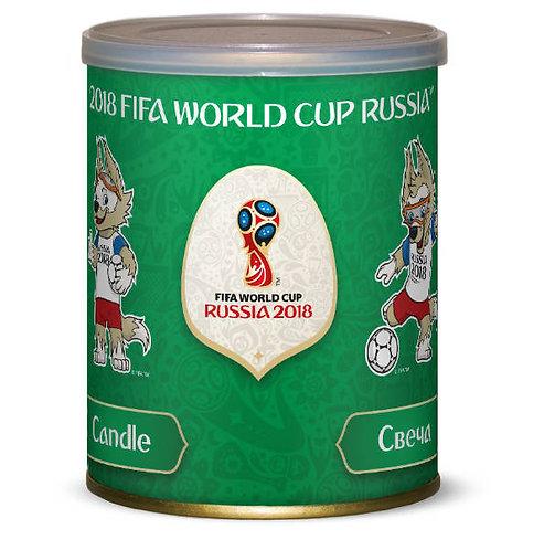 """Свеча большая """"Забивака"""" FIFA World Cup Russia 2018"""