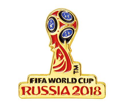 Значок (PIN) 3 см эмаль Эмблема FIFA World Cup Russia 2018