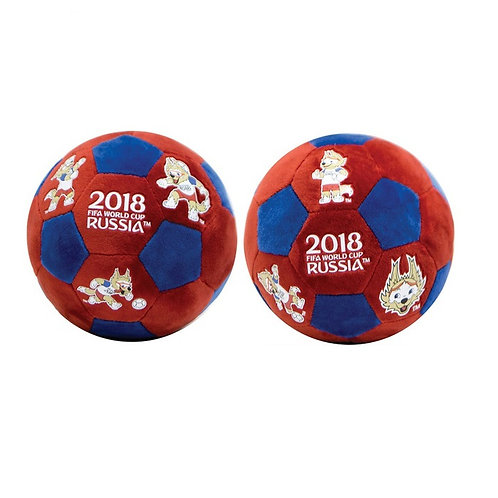 Мяч плюшевый 17 см Забивака FIFA World Cup Russia 2018