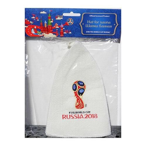 """Шапка банная классическая """"Эмблема"""" FIFA World Cup Russia 2018"""