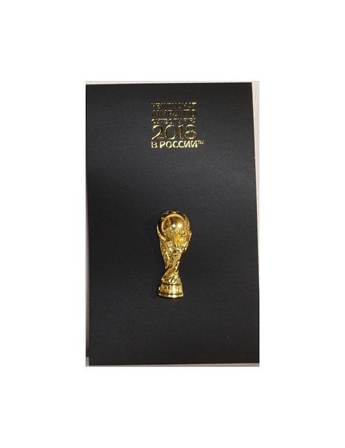 Значок (PIN) ТРОФЕЙ 3см эмаль FIFA World Cup Russia2018