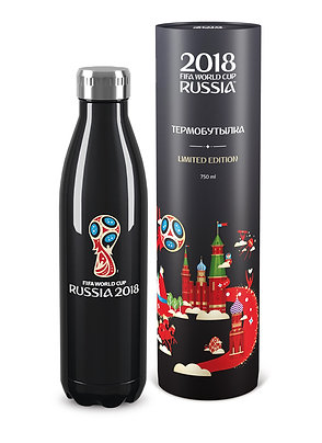 Термобутылка «Эмблема» BLACK EDITION (750 мл) 2018 FIFA World Cup Russia™