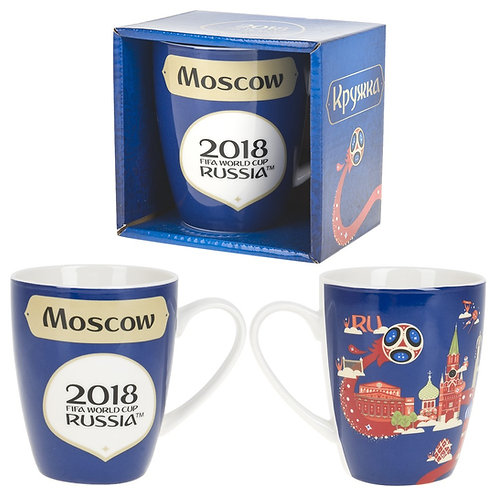 "Кружка фарфоровая ""Москва"" 360 мл 2018 FIFA World Cup Russia"
