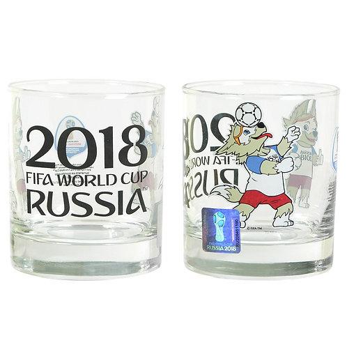 Стакан низкий «Исланд» 300 мл «Забивака» FIFA World Cup Russia 2018