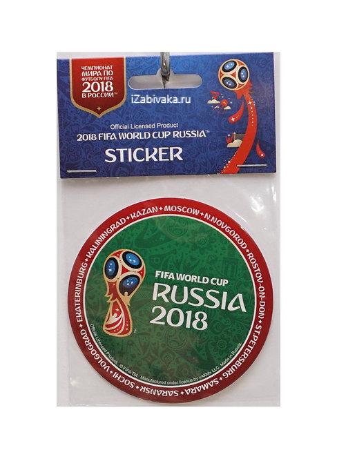 """Наклейка """"Эмблема"""" в.3 (Sticker) 2018 FIFA World Cup Russia™ 86мм в ассорт."""