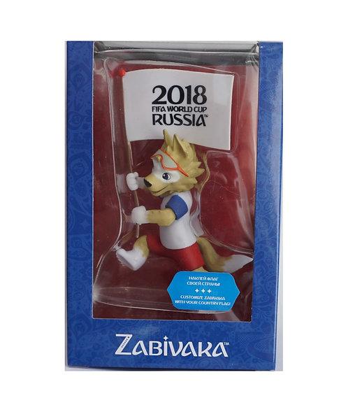 Фигурка FIFA 2018 Забивака-Знаменосец 9 см в подарочной коробке