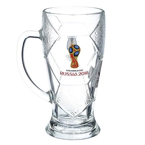 Кружка для пива «Лига» 500 мл «Эмблема» FIFA World Cup Russia 2018