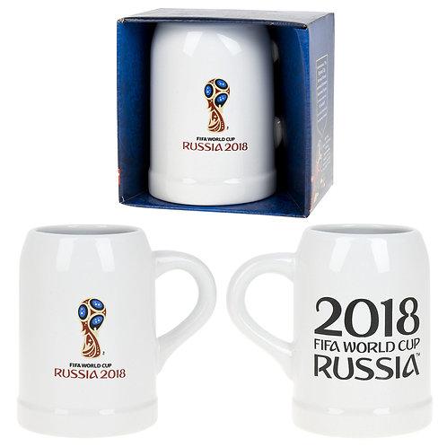 """Кружка керамическая (для пива) """"ЧМ 2018"""" 500 мл FIFA World Cup Russia"""