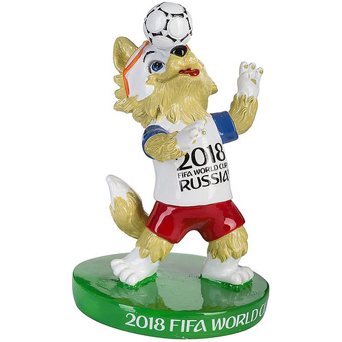 Фигурка из полистоуна Забивака мяч на голове 8,5 см FIFA 2018 World Cup Russia