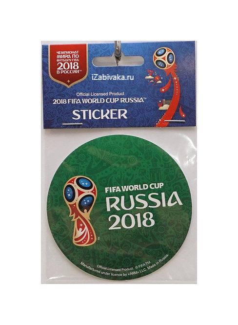 """Наклейка """"Эмблема"""" в.2 (Sticker) 2018 FIFA World Cup Russia™ 86мм в ассорт."""