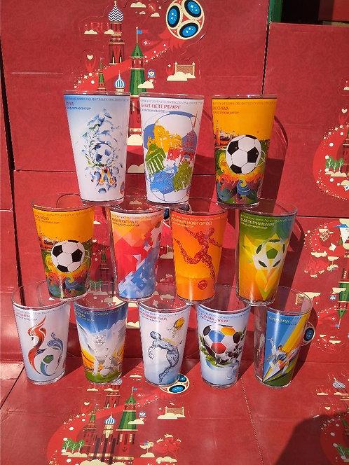 Набор стаканов 470 мл «Миксинг Гласс» (Сити Постерс) FIFA World Cup Russia 2018