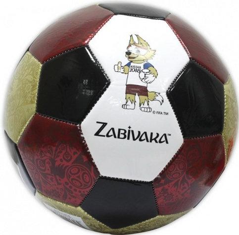 Футбольный мяч 2018 FIFA World Cup  Zabivaka, foam PVC(ПВХ)