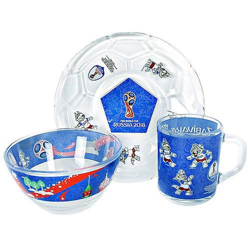 Набор детский для завтрака 2018 FIFA World Cup Russia
