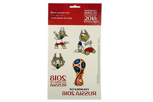 Тату для тела 26*14 см 2018 FIFA World Cup Russia™