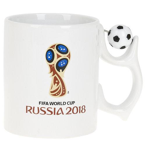 """Кружка керамическая """"ЧМ 2018"""" 330мл (подарочная упаковка) FIFA World Cup Russia"""