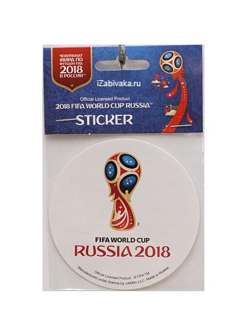 """Наклейка """"Эмблема"""" в.1 (Sticker) 2018 FIFA World Cup Russia™ 86мм в ассорт."""