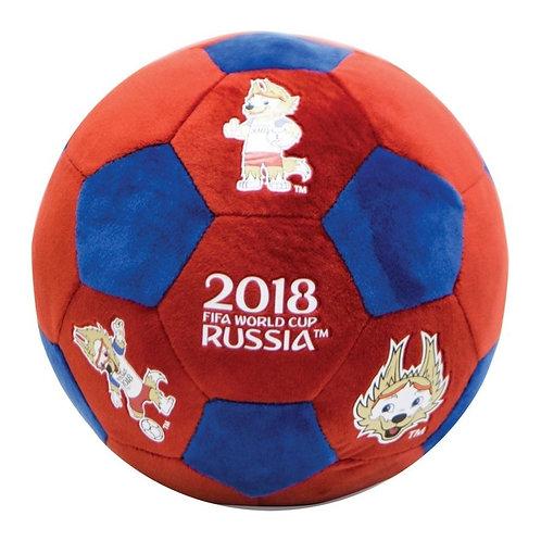 Мяч плюшевый 22 см Забивака FIFA World Cup Russia 2018