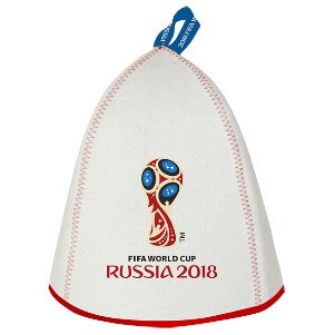 "Шапка банная  ""Эмблема"" FIFA World Cup Russia 2018"