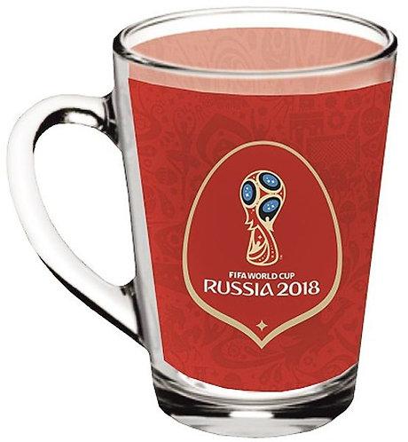 Кружка «Каппучино» 300 мл «Эмблемафон» FIFA 2018