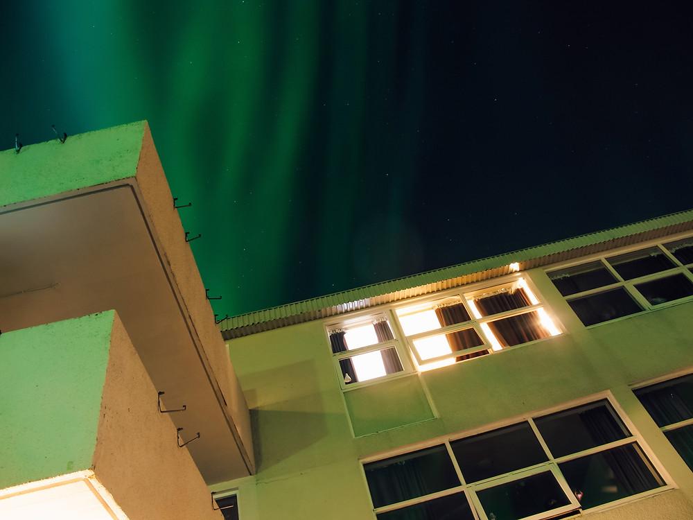 Pure Light of Home aurora Iceland