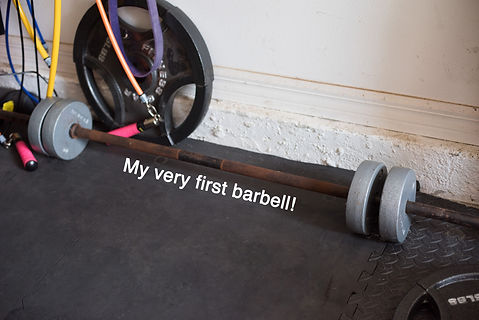 My garage gym set up torielinfitness