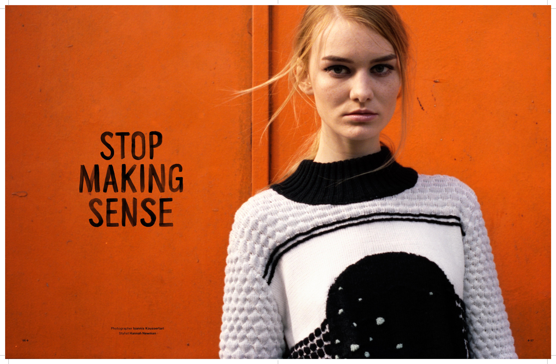 Stop Making Sense | Notion Magazine