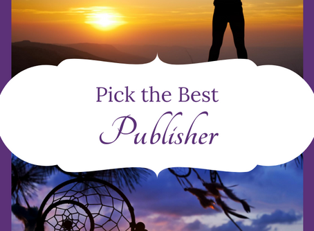 Choose the best book publisher in 3 steps
