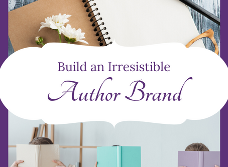 Simple Steps to an Irresistible Author Brand