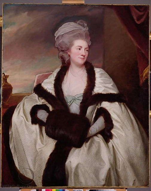 Oil painting by George Romney, created in 1781