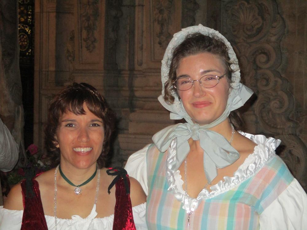 Author Anna Harrington and Editor Lindsey Teske at the Historic Romance Retreat